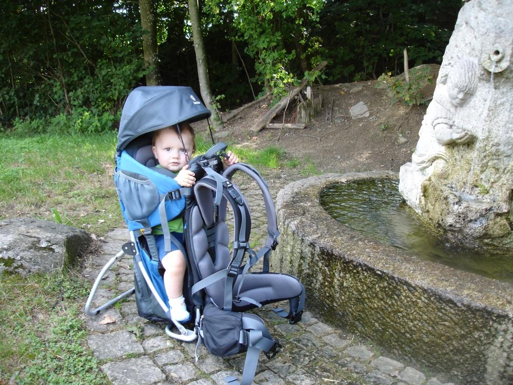 Deuter Kid Comfort 2 Kraxn Test